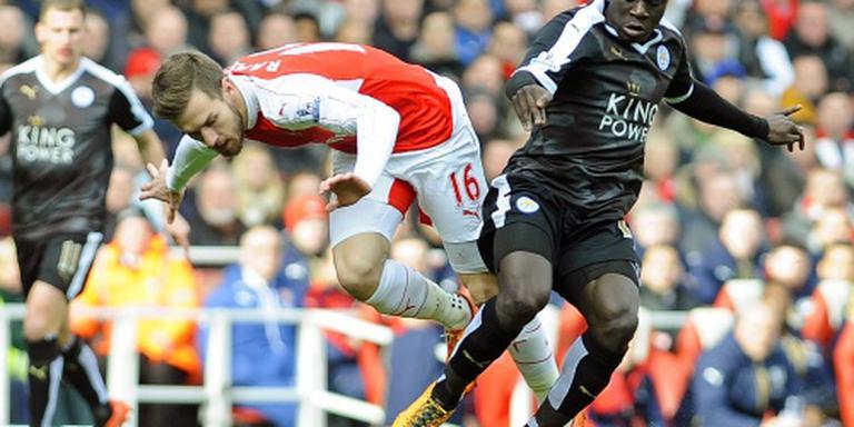 Arsenal verslaat Leicester in slotseconden