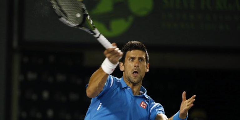 Titelverdediger Djokovic stoomt door in Miami