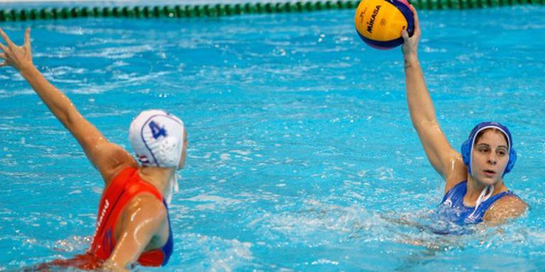 Waterpolosters voorkomen eerste nederlaag net