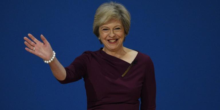 Britse premier May naar Den Haag