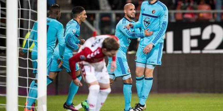 Miraculeuze ontsnapping Feyenoord in Utrecht