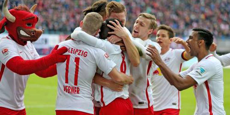 RB Leipzig blijft winnen in Duitsland