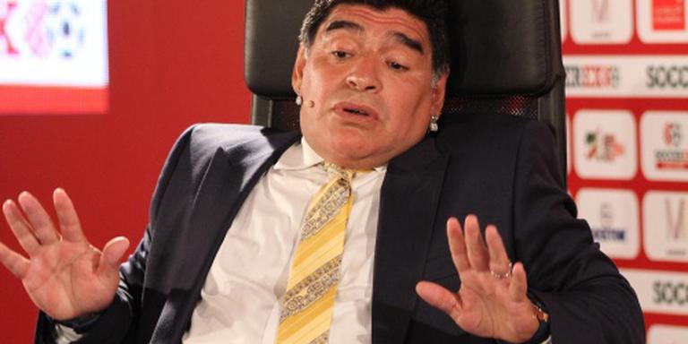 Maradona: ik word naaste medewerker Infantino