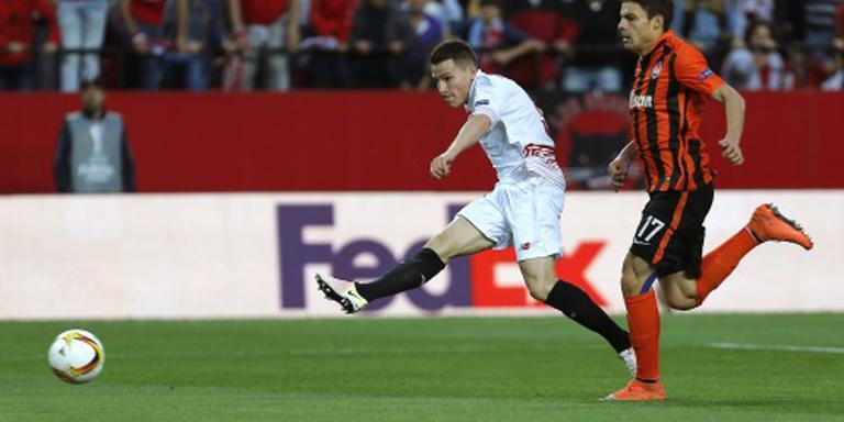 Sevilla naar derde finale na zege op Sjachtar