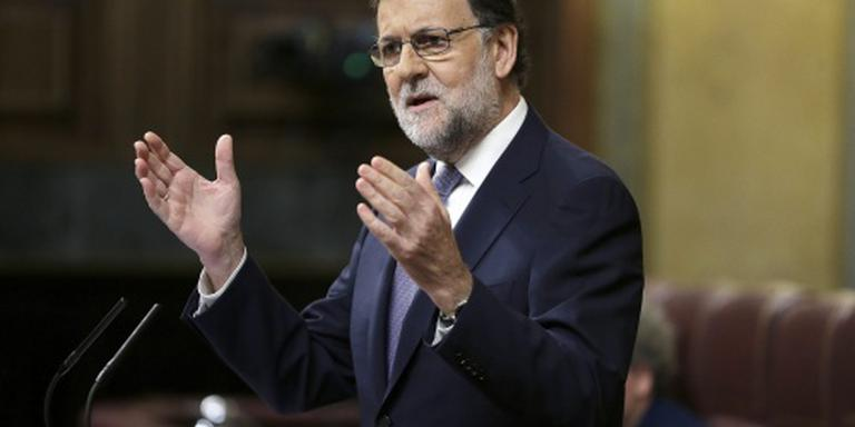 Parlement blokkeert nieuwe termijn Rajoy