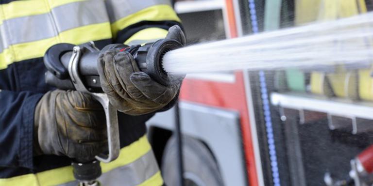 Uitslaande brand bij transportbedrijf Duiven