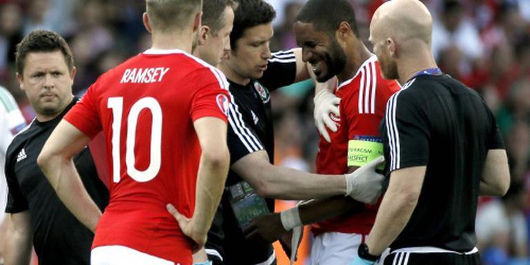 Aanvoerder Wales dreigt kwartfinale te missen
