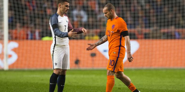 Sneijder niet met Oranje mee naar Engeland