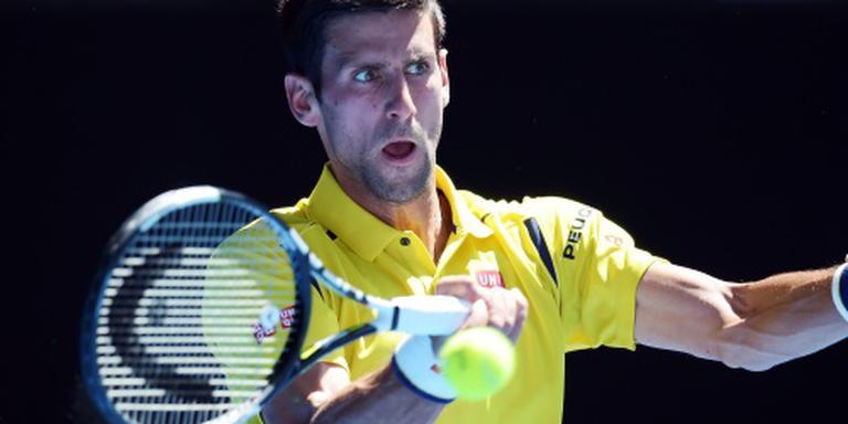 Djokovic benaderd wedstrijd te verliezen