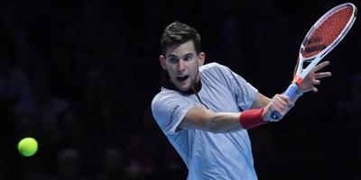 Thiem verslaat Nishikori bij ATP Finals