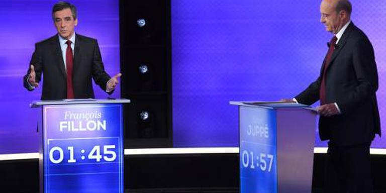 Fillon maakte meeste indruk in debat