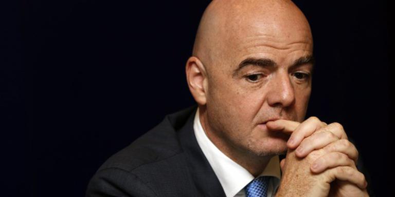 'Schorsing dreigt voor FIFA-baas Infantino'