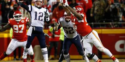 Brady loodst Patriots opnieuw naar Super Bowl
