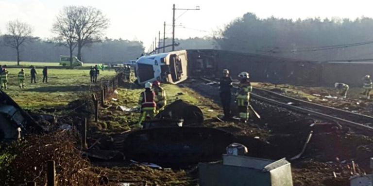 Gemeente: vier treindelen ontspoord