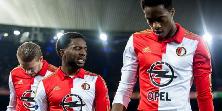 Gelijkspel voelt als verlies bij Feyenoord
