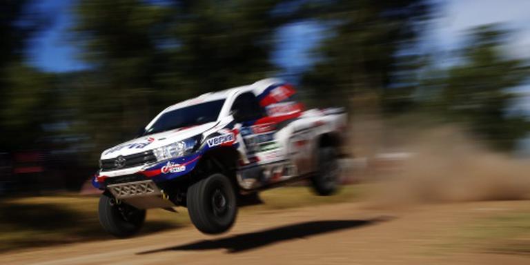 Tweede etappe Dakar door noodweer ingekort