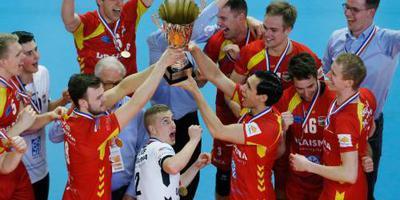 Volleybalbeker voor Dynamo en Sliedrecht