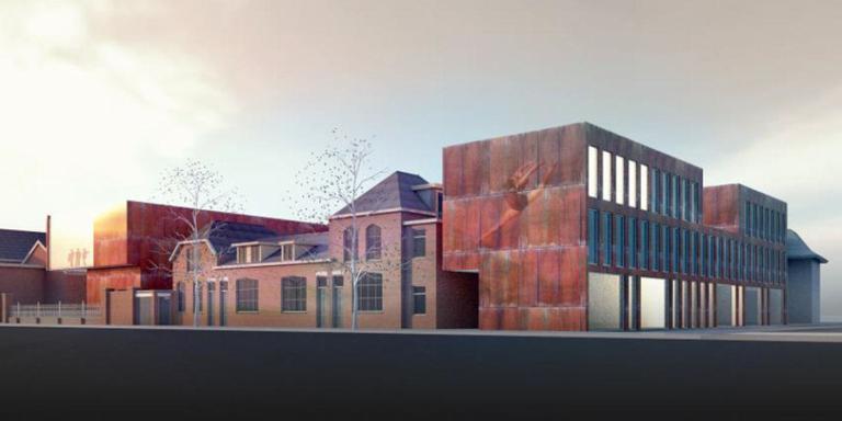 Theatercentrum op Ebbingekwartier in Stad