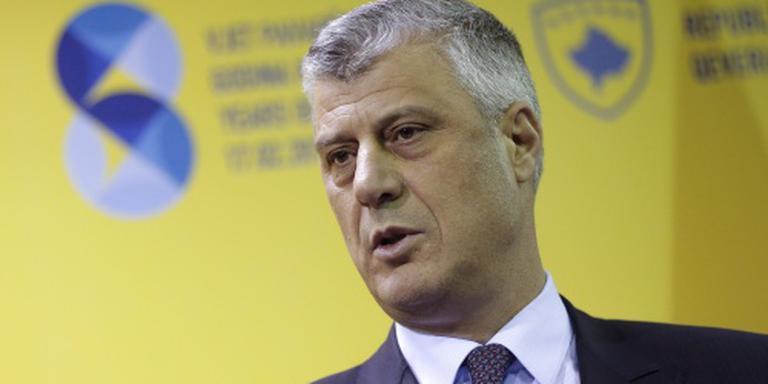 Hashem Thaci nieuwe president Kosovo