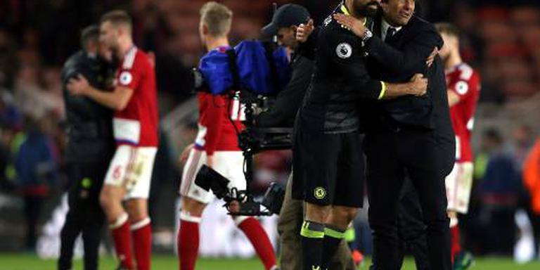 Chelsea aan kop in Premier League