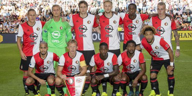 Feyenoord met Van der Heijden en Kongolo