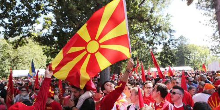 Parlement Macedonië voor deal met Grieken