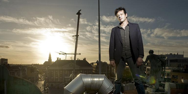 Nachtburgemeester Chris Garrit. Foto Archief Reyer Boxem
