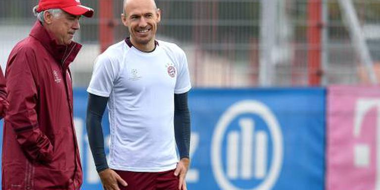 Robben volledig inzetbaar bij Bayern