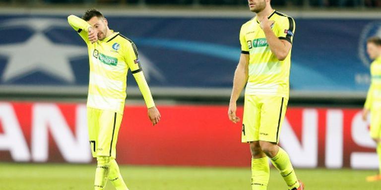 Gent krijgt klop na Champions Leagueduel