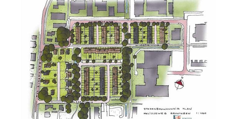 Bouw honderd nieuwe woningen in Stad