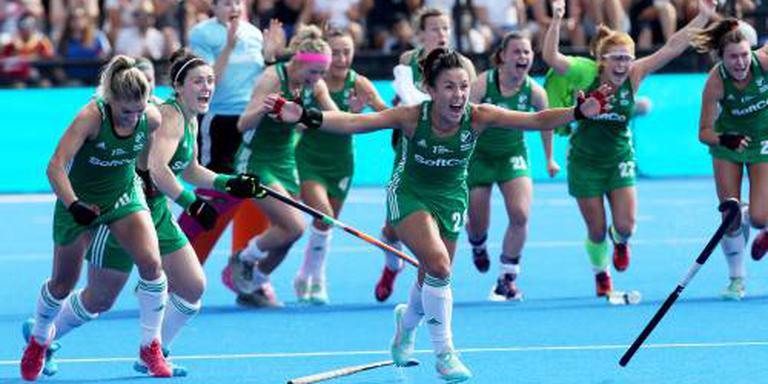 Ierse hockeysters naar finale WK