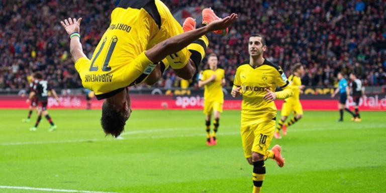 Dortmund wint verhit duel in Leverkusen