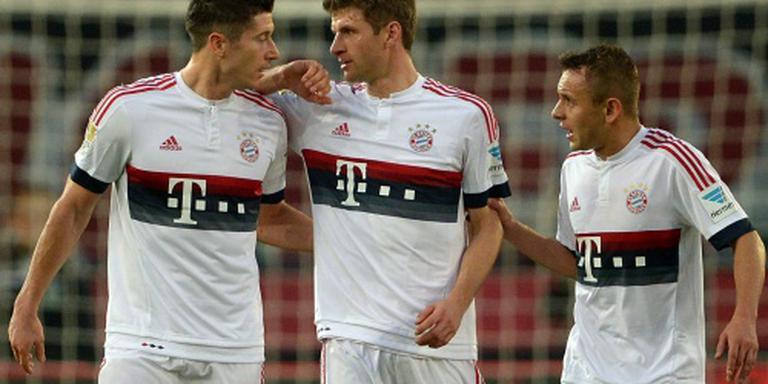Bayern loopt uit op Dortmund
