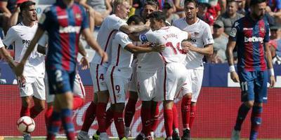 Ben Yedder leidt Sevilla naar ruime zege