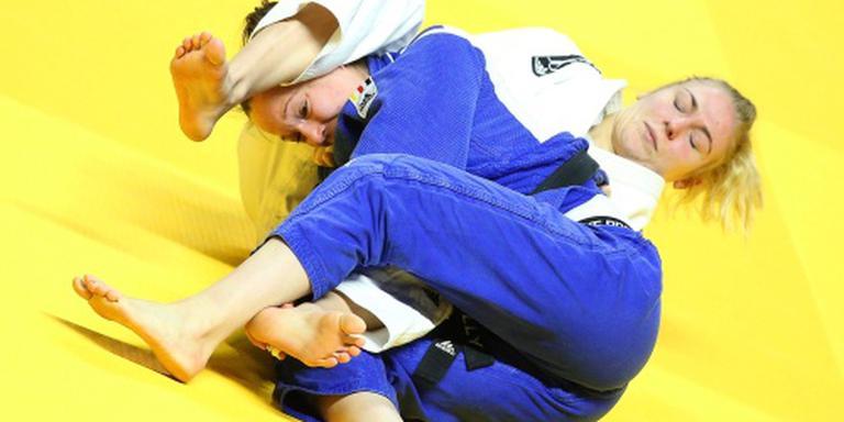 Judoka Polling raakt Europese titel kwijt