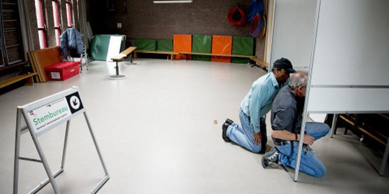 Opkomst nog geen kwart in Rotterdam