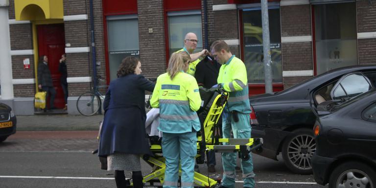 Kinderen gewond bij aanrijding in centrum Groningen.