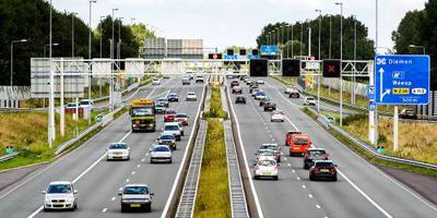 Automobilisten voorkomen ongeval op snelweg