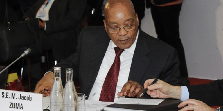 Geen afzettingsprocedure tegen president Zuma
