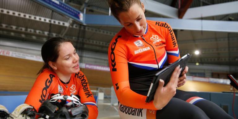 Van Riessen en Ligtlee zesde op teamsprint
