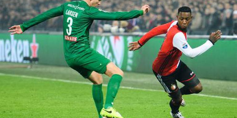 FC Groningen mist Larsen tegen Feyenoord