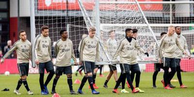 Ajax wint oefenduel met AZ