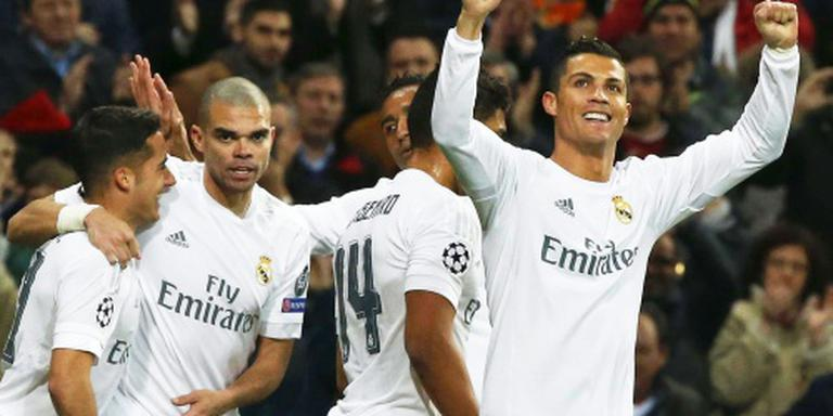 Real Madrid geeft Roma les in afronden