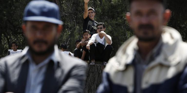 Griekenland registreert migranten vasteland
