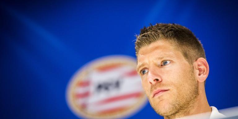 Schaars is reserverol bij PSV beu