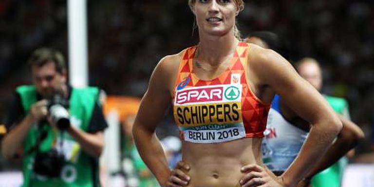 Schippers overtuigend naar finale 200 meter