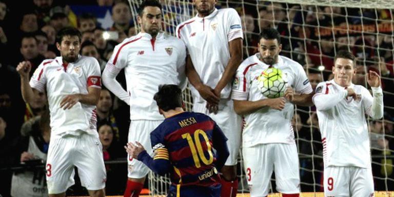 Barcelona rekent af met Sevilla