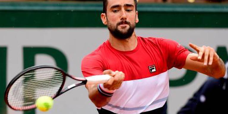 Cilic door naar tweede ronde Roland Garros