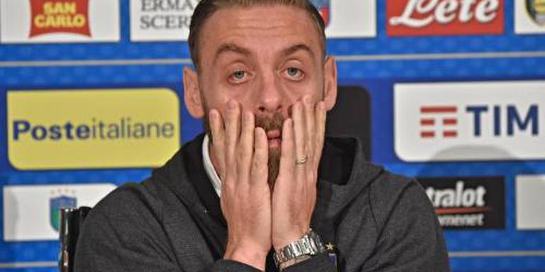 AS Roma 2 duels zonder hardleerse De Rossi
