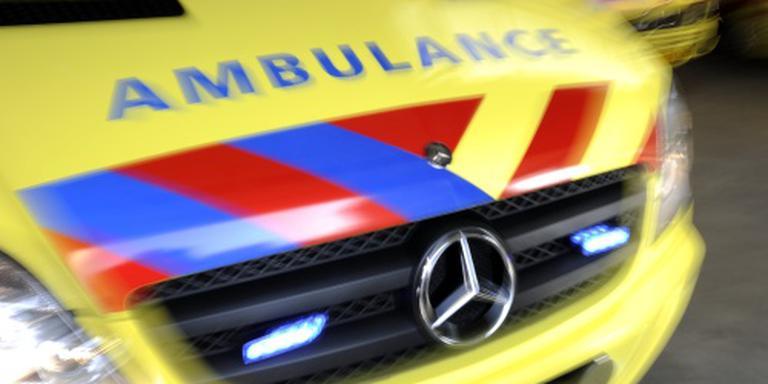 Een 24-jarige motorrijder uit Veendam kwam na een uitwijkmanoeuvre hard ten val. FOTO ANP